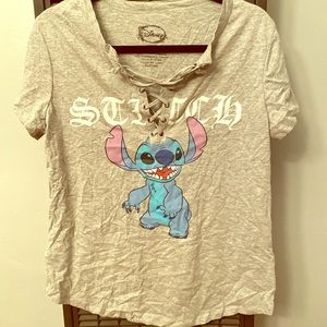 Disney XL Stitch Short Sleeve Shirt